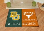 Baylor - Texas House Divided Mat 34'' x 45'' [7651-FS-FAN]