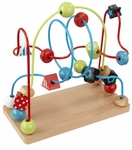 Early Childhood Development Eye-Hand Coordination Wooden Bead Maze [63241-FS-KK]