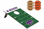 Bean Bag Throw -Football - Kansas State University Digital Print [769-00-901-254-0-FS-PNT]