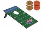 Bean Bag Throw -Football - Louisiana Tech University Digital Print [769-00-901-854-0-FS-PNT]