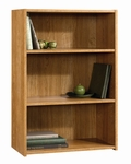 Beginnings 24''W x 32''H Wooden Bookcase with 2 Adjustable Shelves - Highland Oak [413322-FS-SRTA]