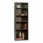 Beginnings 24''W x 71''H Wooden Bookcase with 3 Adjustable Shelves - Cinnamon Cherry [409090-FS-SRTA]