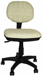 Beige Secretary Chair [5505-BEIGE-FS-EHF]