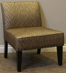 Belinda Decorative Accent Chair - Brown [773511-FS-DCON]