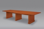 Belmont 12' Boat Shaped Conference Table - Executive Cherry [7130-98-FS-DMI]