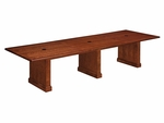 Belmont 12' Rectangular Expandable Table [7132-144REX-FS-DMI]