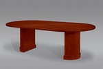 Belmont 8' Race Track Conference Table - Brown Cherry [7132-96-FS-DMI]
