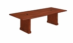 Belmont 8' Rectangular Expandable Table - Brown Cherry [7132-96REX-FS-DMI]