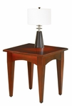 Belmont End Table - Brown Cherry [7132-10-FS-DMI]