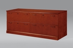 Belmont Lateral File Credenza - Brown Cherry [7132-277-FS-DMI]
