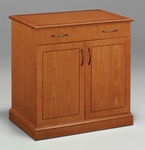 Belmont Two Door Buffet - Executive Cherry [7130-26B-FS-DMI]
