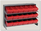 Bench and Rack Systems with Bins