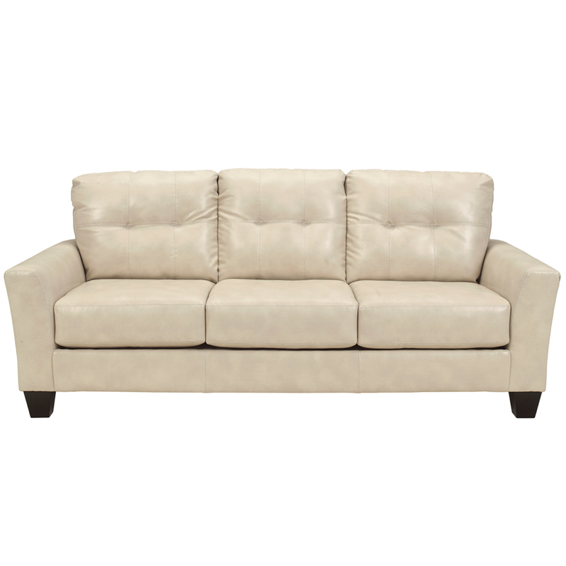 benchcraft paulie living room set in taupe durablend fbc