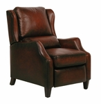 Berkeley II Power Recliner with Stetson Bordeaux [9-4059-STETSON-BORDEAUX-FS-BAR]