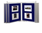 Best-Rite Wall Mount Swinging Panel Displays [698UG-20-BR]