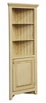 Beth Rustic Style 22''W x 12.75''D Solid Pine Corner Cabinet - Buttermilk [465-012-FS-CHEL]