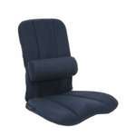 BetterBack® ErgoSeat® with Removable LumbiPad - Blue [BB1000BL-FS-JB]