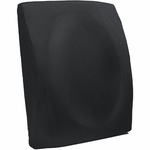 BetterBack® Flat Back Seat Design Concave Lumbar Cushion - Black [BB6000BK-FS-JB]