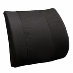 BetterBack® Molded Seat Design Trisectional Molded Lumbar Support Cushion - Black [BB6007BK-FS-JB]