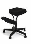 BetterPosture® Solace Kneeling Chair - Black [BP1442BK-FS-JB]