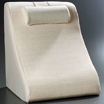 BetterRest® Memory Reclining Bed Wedge with Removable Terry Cloth Cover - Cream [BR2500-FS-JB]