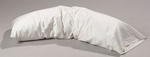 BetterRest® Spine Reliever Standard Body Pillow with Cotton Cover - White [BR3000-FS-JB]