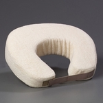 BetterRest® U-Shaped Neck Travel Pillow - Ecru [BR1750-FS-JB]