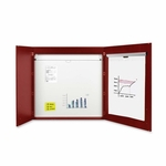 Bi-Silque 2 -Door Conference Cabinet - 2 -1/4'' x 48'' x 48'' - Cherry [BVCCAB01010130-FS-SP]