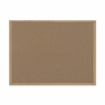 Bi-Silque Cork Board with MDF Frame - 3' x 4' - Brown [BVCSB0720001233-FS-SP]
