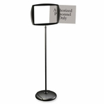 Bi-Silque Interchangeable Floor Pedestal Sign [BVCSIG05050505-FS-SP]