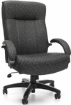 Big & Tall Executive High-Back Chair - Gray Carbon [710-301-FS-MFO]