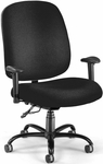 Big & Tall Task Chair with Arms - Black [700-AA6-236-FS-MFO]