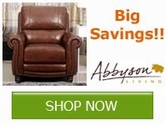 Save on select Abbyson Living Products for a limited time!!