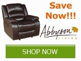 Save now on all Abbyson Living Furniture!!