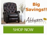 Huge savings on ALL Abbyson Living Products!!