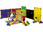 Big Screen Rainbow and Activity Playpanel Set - 60''L x 48''W [CF900-526-FS-CHF]