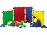 Big Screen Rainbow Playpanel Set - 60''L x 48''W [CF900-520-FS-CHF]