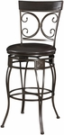 Big & Tall Back to Back Scroll Barstool [938-851-FS-PO]