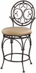 Big & Tall Scroll Circle Back Counter Stool [586-726-FS-PO]