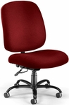 Big & Tall Task Chair - Wine [700-238-FS-MFO]