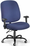 Big & Tall Task Chair with Arms - Navy [700-AA6-237-FS-MFO]
