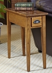 Bin Pull Narrow End Table - Candleglow [9010-FS-LCK]