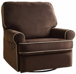 Birch Hill Swivel Glider Recliner in Stella Coffee [DS-913-006-178-FS-PUL]