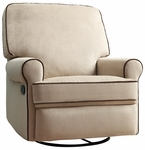 Birch Hill Swivel Glider Recliner in Stella Doe [DS-913-006-175-FS-PUL]