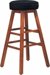 Bison Wood Bar Stool [5-O-FS-CMF]