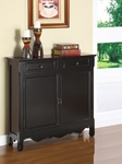 Black 2-Door Console [246-333-FS-PO]