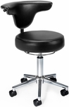 Anatomy Anti-Microbial and Anti-Bacterial Vinyl Chair - Black [910-BLACK-FS-MFO]