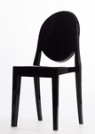 Black Armless Ghost Chair [RPC-GHOST-ARMLESS-BL-CSP]