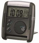 Black Get Up & Glow® Travel Alarm Clock [QHL004KLH-FS-SEI]
