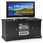 Black Hardwood - 50''W TV Stand [83350-FS-LCK]